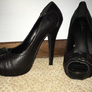 Shoes - Black 4 Inch Heels